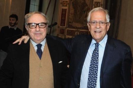 Presidente con Adolfo Vannucci