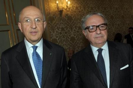 Achille Colombo Clerici con Antonio Patuelli