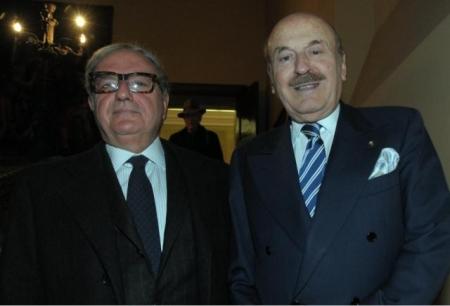 Achille Colombo Clerici con Benito Benedini