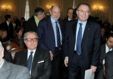 Achille Colombo Clerici con Giorgio Squinzi