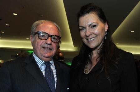 Achille Colombo Clerici con l'Assessore Paola Bulbarelli