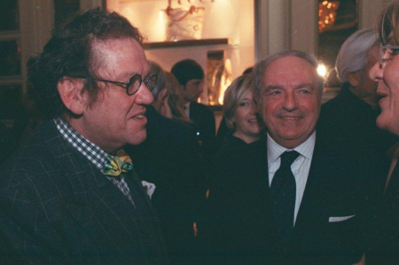 Achille Colombo Clerici con Philippe Daverio