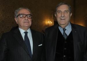 Achille Colombo Clerici con Rosario Alessandrello
