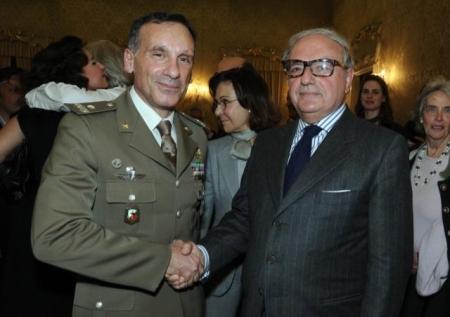 Colombo Clerici con Antonio Pennino