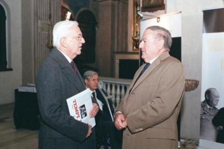 Colombo Clerici con Gaetano Galeone