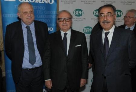 Colombo Clerici con Giancarlo Mazzuca e Pietro Martello