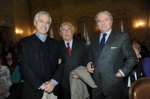 Colombo Clerici con Michele Saponara e Alberto Di Luca