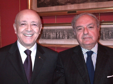 Colombo Clerici con Salvatore Messina