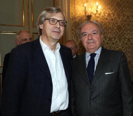Colombo Clerici con Vittorio Sgarbi 3