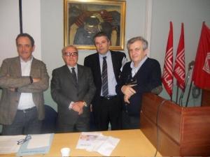 Franco Mirabelli, Achille Colombo Clerici, Onorio Rosati, Don Virginio Colmegna