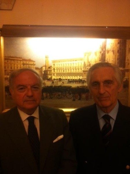 Colombo Clerici con Alessandro Gerli