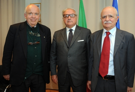 Ugo Friedmann, Achille Colombo Clerici, Antonio Iovine