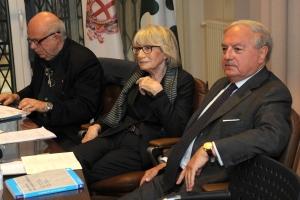 Ugo Friedmann, Bruna Vanoli Gabardi, Achille Colombo Clerici
