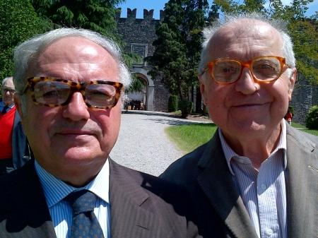 Colombo Clerici con Alberico Barbiano di Belgiojoso 1