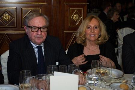 Colombo Clerici con la moglie Giovannafoto d' archivio