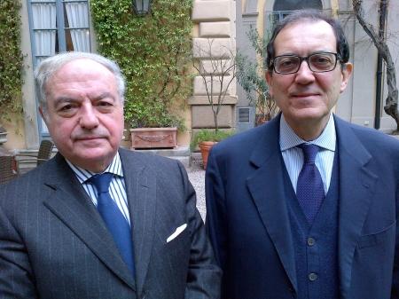 Colombo Clerici con Salvatore Carrubba