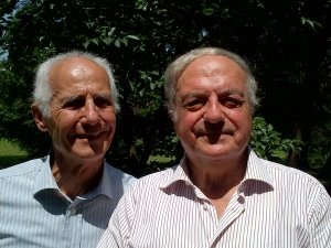 Achille Colombo Clerici con Bernardo Negri da Oleggio 2