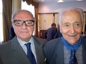 Achille Colombo Clerici con Franco Masoni Fontana
