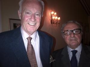 Achille Colombo Clerici con Giampaolo Bossi Fedrigotti