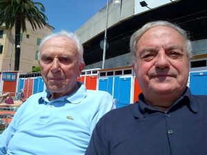 Achille Colombo Clerici con Giuseppe Barbiano di Belgiojoso 2