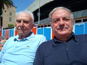 Achille Colombo Clerici con Giuseppe Barbiano di Belgiojoso