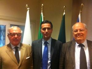 Achille Colombo Clerici con Massimiliano Salini e Giuseppe Zola 2
