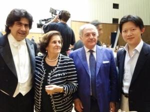 Chen Guang Con Alberto Veronesi, Fernanda Giulini e Achille Colombo Clerici 2