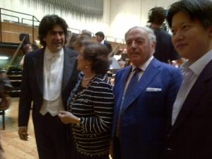 Chen Guang Con Alberto Veronesi, Fernanda Giulini e Achille Colombo Clerici 3