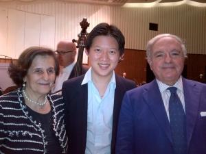 Cheng Guang con Fernanda Giulini e Achille Colombo Clerici