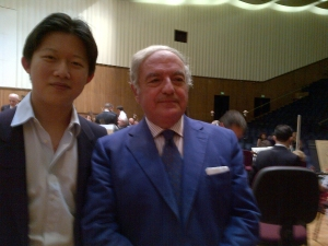 Colombo Clerici con Chen Guang