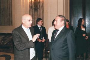 Achille Colombo Clerici con Gabriele Albertini