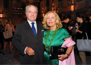 Achille e Giovanna Colombo Clerici foto d'archivio