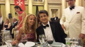 Giulia Colombo Clerici con il marito Stefano Simontacchi
