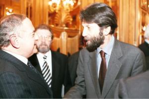 Achille Colombo Clerici con Massimo Cacciari