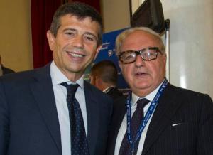 Ambrosetti 2014 Colombo Clerici con Maurizio Lupi