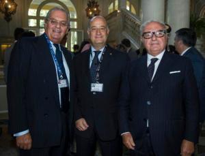 Ambrosetti 2014 con Cesare Castelbarco e il Prefetto di Como Bruno Corda
