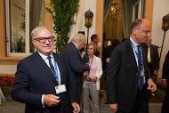 Ambrosetti 2014 con Enrico Letta