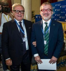 Ambrosetti 2014 con il Governatore Lombardia Roberto Maroni