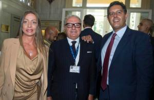 Ambrosetti 2014 con la Sen. Maria Rosaria Rossi e l'On. Giovanni Toti