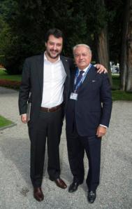 Ambrosetti 2014 con l'On. Matteo Salvini