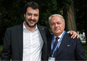 Ambrosetti 2014 con Matteo Salvini 2