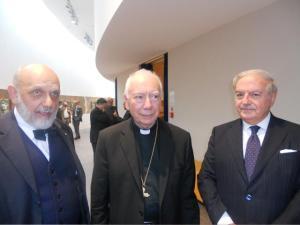 Ivo Amendolagine, card. Francesco Cocco Palmerio, Achille Colombo Clerici