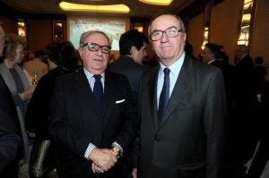 Achille Colombo Clerici con Edmondo Bruti Liberati