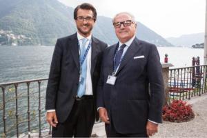 Achille Colombo Clerici con Stefano Simontacchi Cernobbio