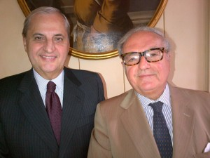 Achille Colombo Clerici e Giampio Bracchi