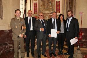 Antonio Arosio, Achille Colombo Clerici, Giusi Laganà, Pierfrancesco Majorino