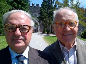 Colombo Clerici con Alberico Barbiano di Belgiojoso 2