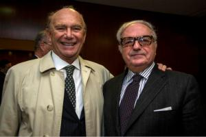 Achille Colombo Clerici e Ernesto Pellegrini