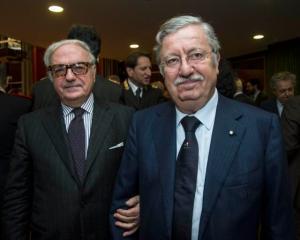 Achille Colombo Clerici e Gian Valerio Lombardi