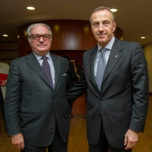 Achille Colombo Clerici e Luigi Savina